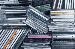 Verkoop van cd's en dvd's